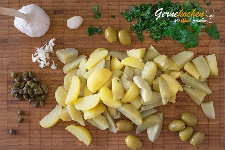 Griechische Kalbschnitzel (Sofrito) - Zubereitungsschritt 3
