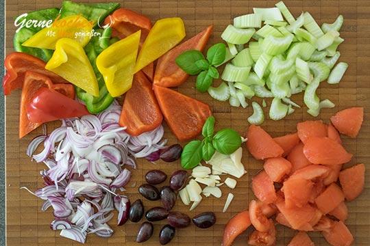 Zubereitung Peperonata - Schritt 1