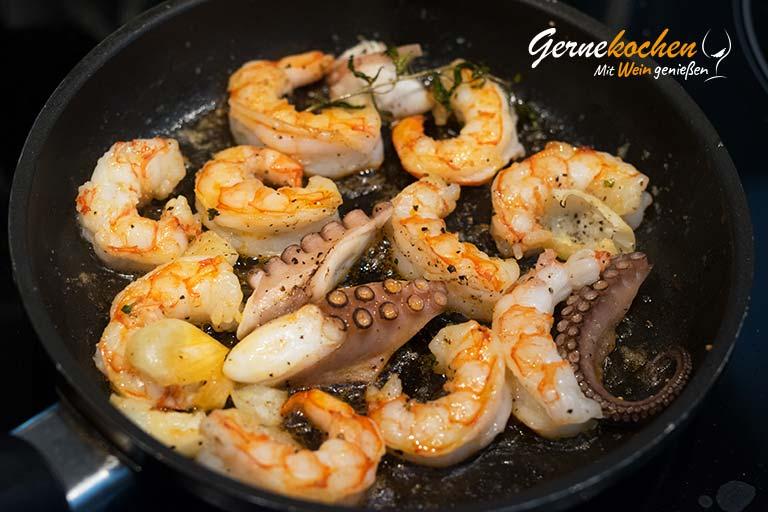 Risotto mit Meeresfrüchten - Zubereitungsschritt 3