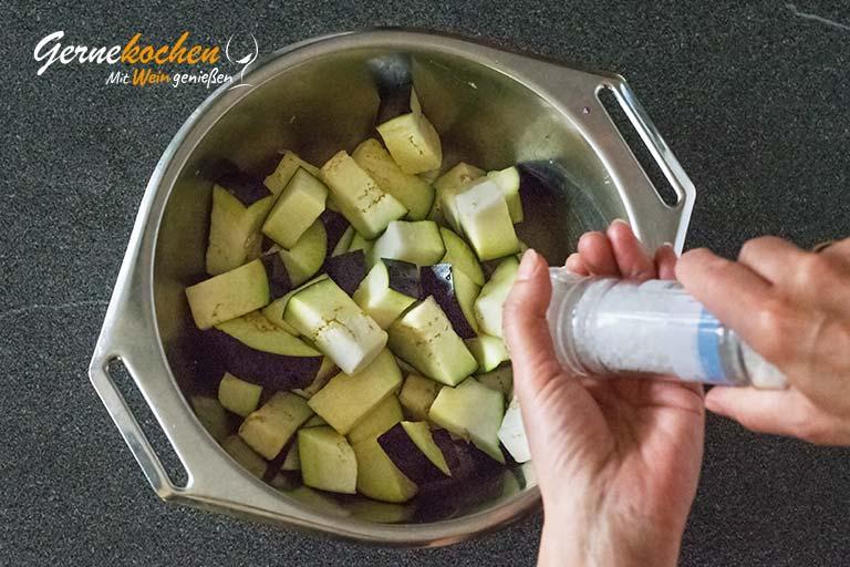 Caponata – Sizilianisches Gemüse – Zubereitungsschritt 2