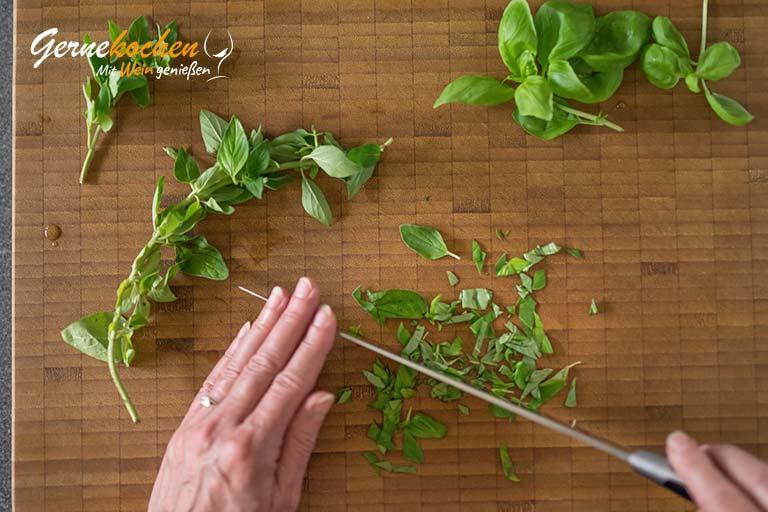 Italienische Kräuterbutter – Zubereitungsschritt 1