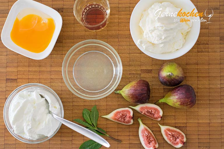 Feigen mit Weincreme | Sika me krema krasiou – Zubereitungsschritt 1