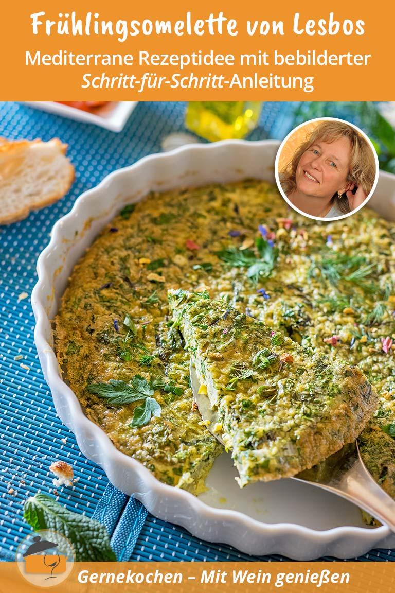 Frühlingsomelette von Lesbos – Omeleta Sfoungato Rezept