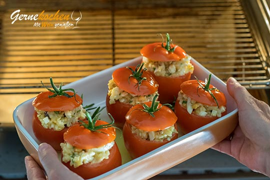 Gefüllte Tomaten - Domátes gemistá - Zubereitungsschritt 4