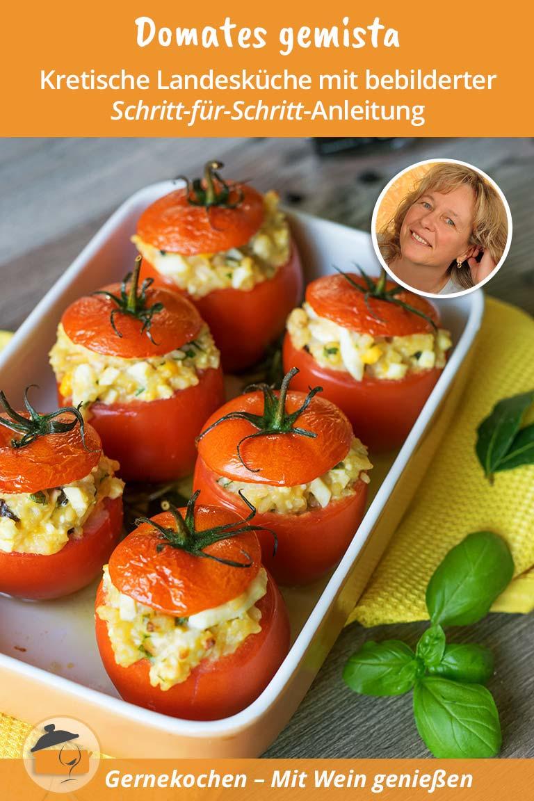 Gefüllte Tomaten - Domátes gemistá