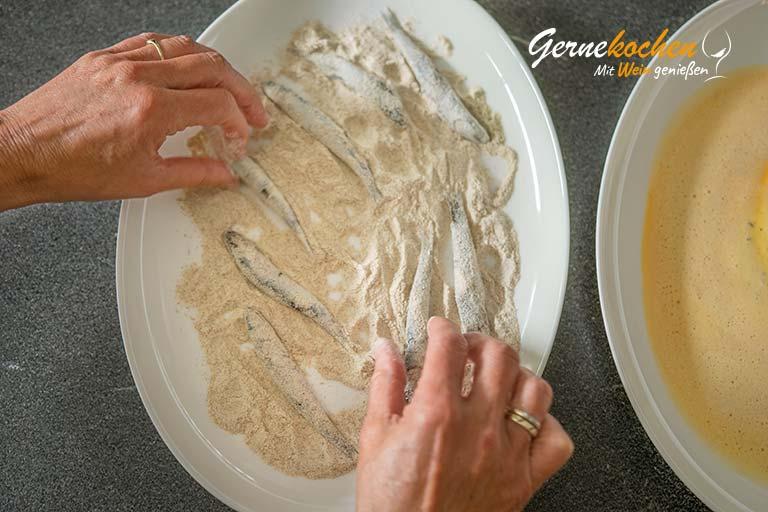 Mediterranes Ofengemüse mit Sardellen, Austernpilzen und Quinoa – Zubereitungsschritt 5.1