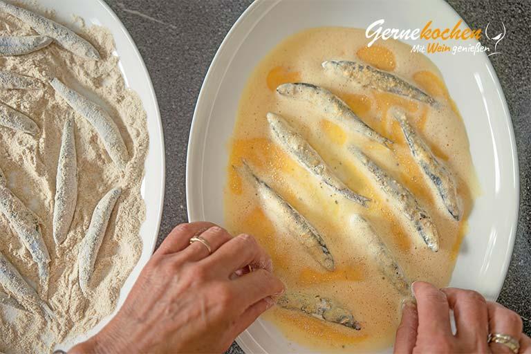 Mediterranes Ofengemüse mit Sardellen, Austernpilzen und Quinoa – Zubereitungsschritt 5.2