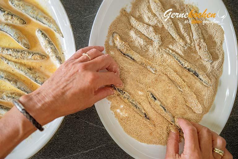 Mediterranes Ofengemüse mit Sardellen, Austernpilzen und Quinoa – Zubereitungsschritt 5.3