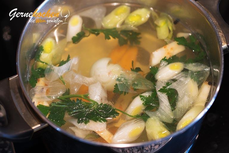 Risotto mit Acquerello-Reis – Zubereitungsschritt 1