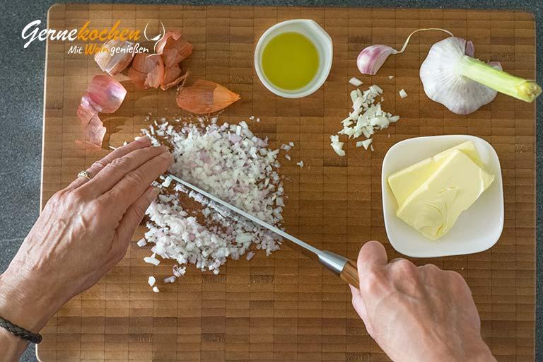 Risotto mit Meeresfrüchten – Zubereitungsschritt 2