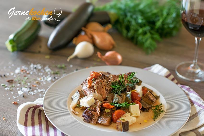 Sechs-Stunden-Lammkeule -  Slow-Cooker-Rezept