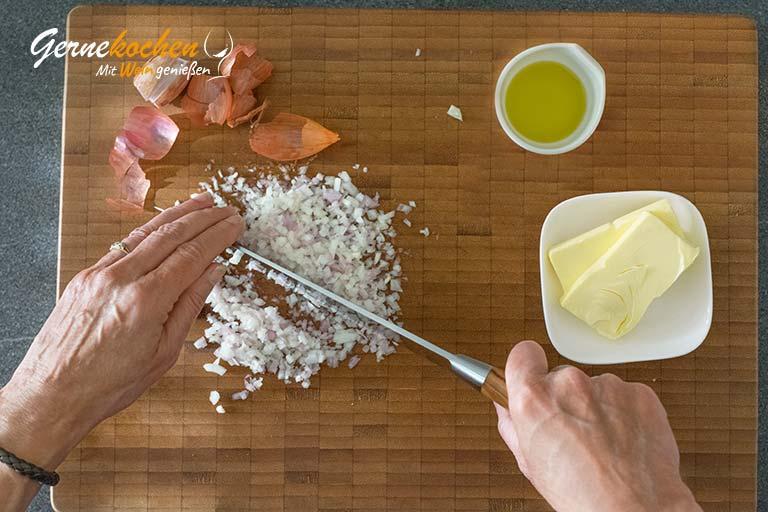 Thunfischsteak mit Erben-Minz-Risotto – Zubereitungsschritt 2