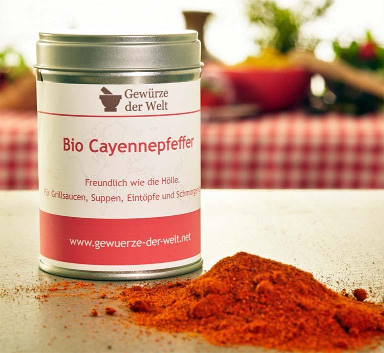 Bio-Cayennepfeffer