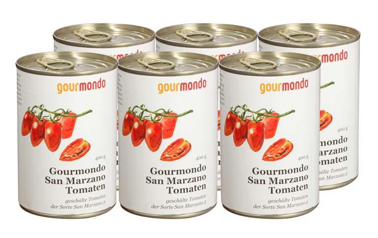 San Marzano-Tomaten vom Fuße des Vusov.