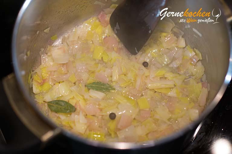 Avocado-Bärlauch-Suppe mit Gnocchi- Zubereitungsschritt 2.1