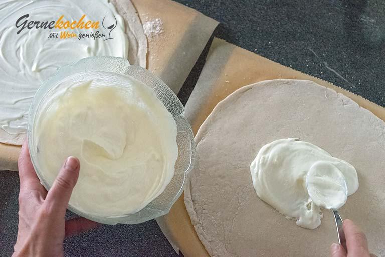 Deftige Winterpizza rheinische Art – Zubereitungsschritt 5
