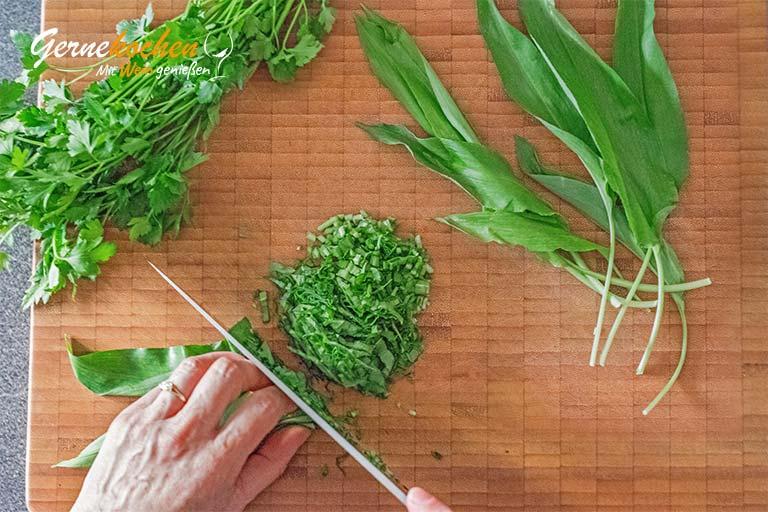 Frühlingssuppe mit Spargel und Artischocken – Zubereitungsschritt 3