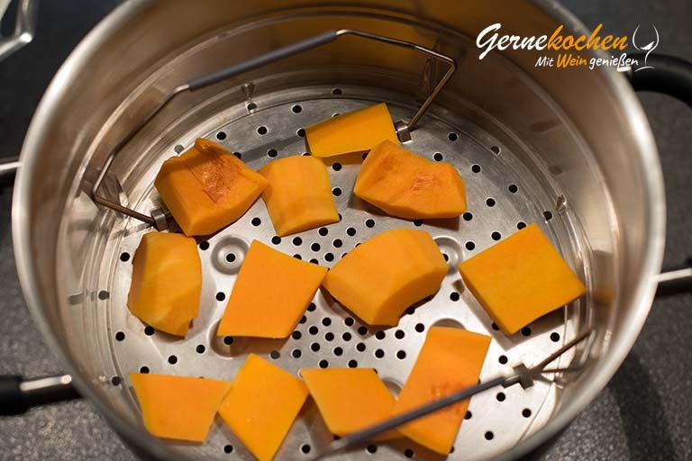 Hähnchenspieße mit Apfel und Kürbis – Zubereitungsschritt 2