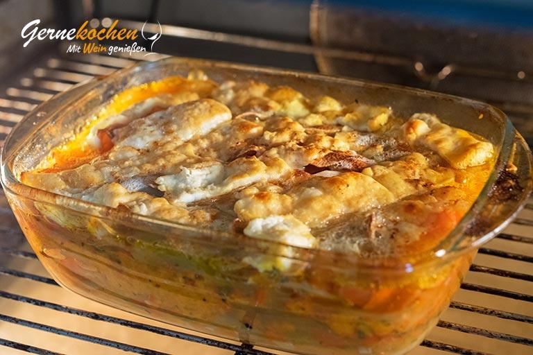 Kartoffel-Paprika-Lauch-Auflauf - Zubereitungsschritt 2