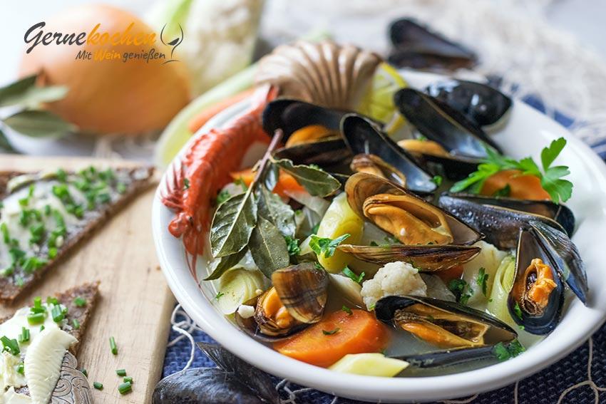 Muscheln rheinische Art Rezept