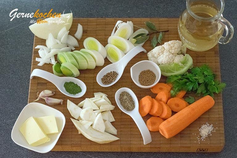 Muscheln rheinische Art - Zubereitungsschritt 1