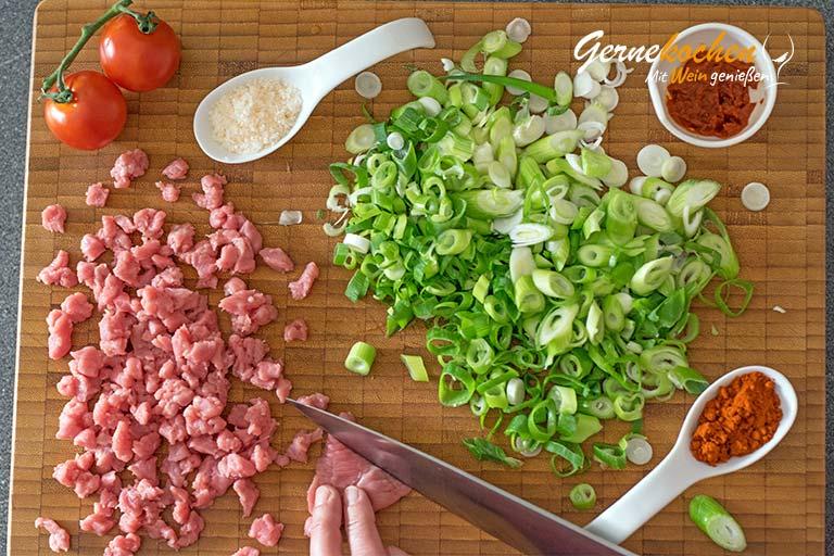 Türkische Pizza vom Grill - Zubereitungsschritt 3.1