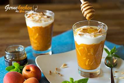 Aprikosencreme mit griechischem Joghurt – Kréma veríkoko