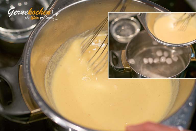Bayerische Creme mit Schoko-Mousse – Zubereitungsschritt 4