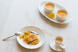 Food-Fotografie: Crème brûlée - Crema Catalana
