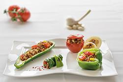 Food-Fotografie: Dolma - Orientalische Gemüse-Hackfüllungen
