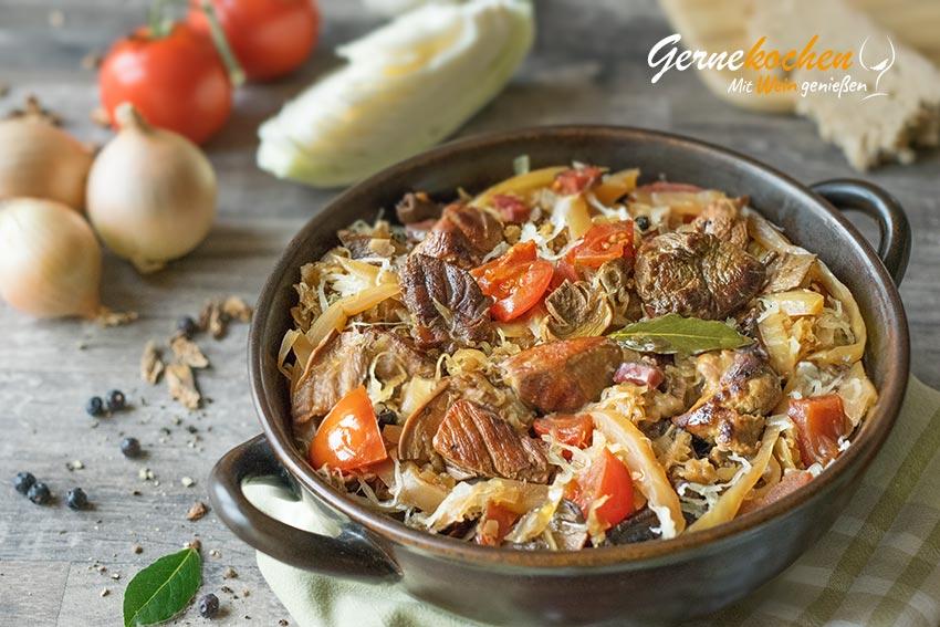 Bigos (Bigosch) - Slow Cooker Rezept