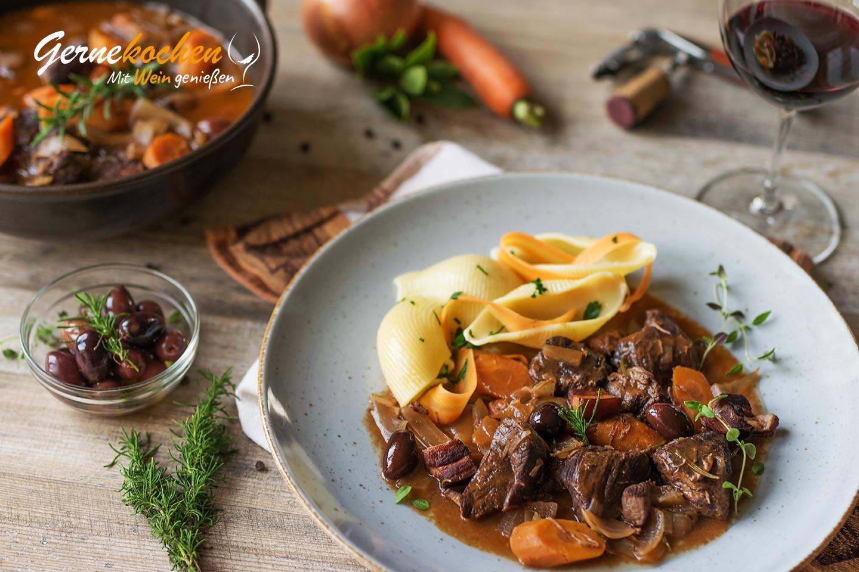 Slow Cooker Daube de Boeuf provençale