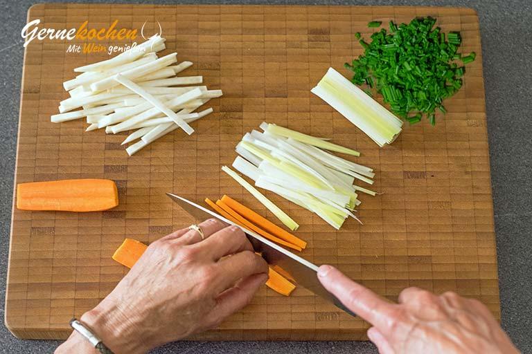 Eingemachtes Kalbfleisch badische Art - Zubereitungsschritt 5