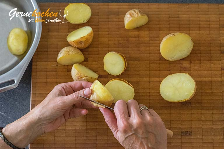 Macaire-Kartoffeln - Zubereitungsschritt 3.1