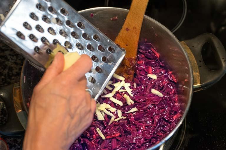 Rotkohl selber machen - Zubereitungsschritt 2.3