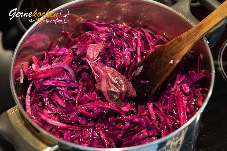 Rotkohl selber machen - Zubereitungsschritt 2.2