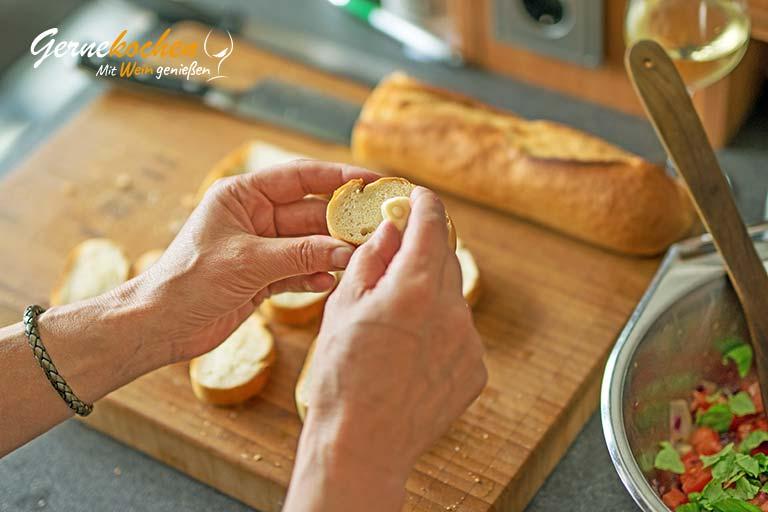 Bruschetta-Rezept original - Zubereitungsschritt 3.1