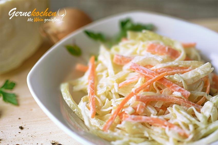 Cole-Slaw-Salat - amerikanischer Krautsalat Rezept