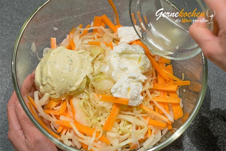 Cole-Slaw-Salat - amerikanischer Krautsalat - Zubereitungsschritt 4.1