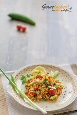 Gernekochen - Mit Wein genießen: Bulgur-Salat - Türkischer Kisir