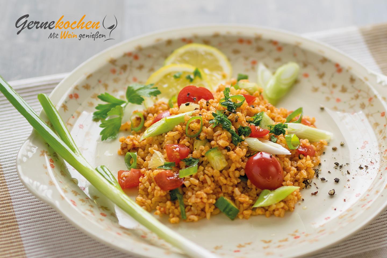 Türkische Sommerküche : Food bulgursalat türkischer kisir