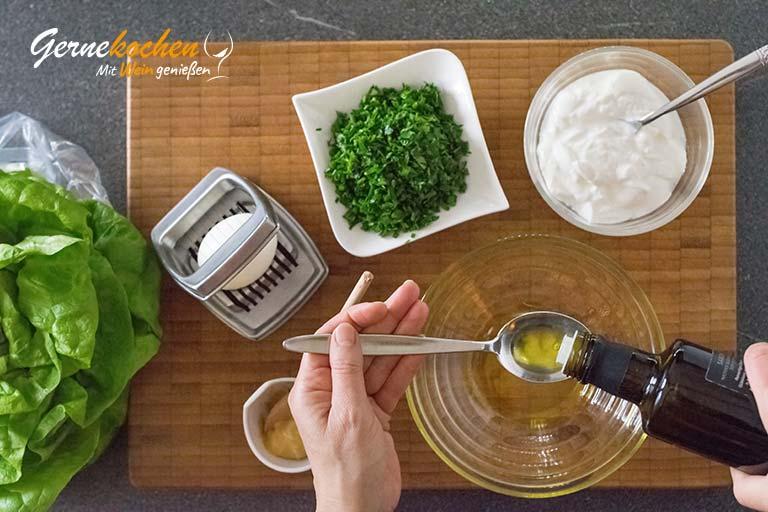 Kopfsalat Klara – Zubereitungsschritt 2.1
