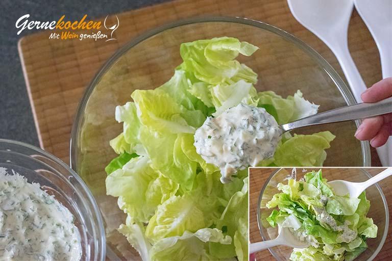 Kopfsalat Klara – Zubereitungsschritt 3