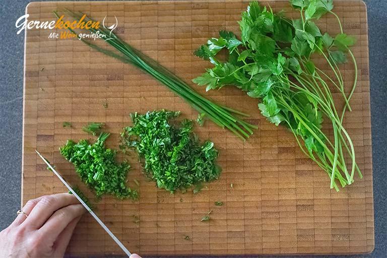 Kopfsalat Klara – Zubereitungsschritt 1