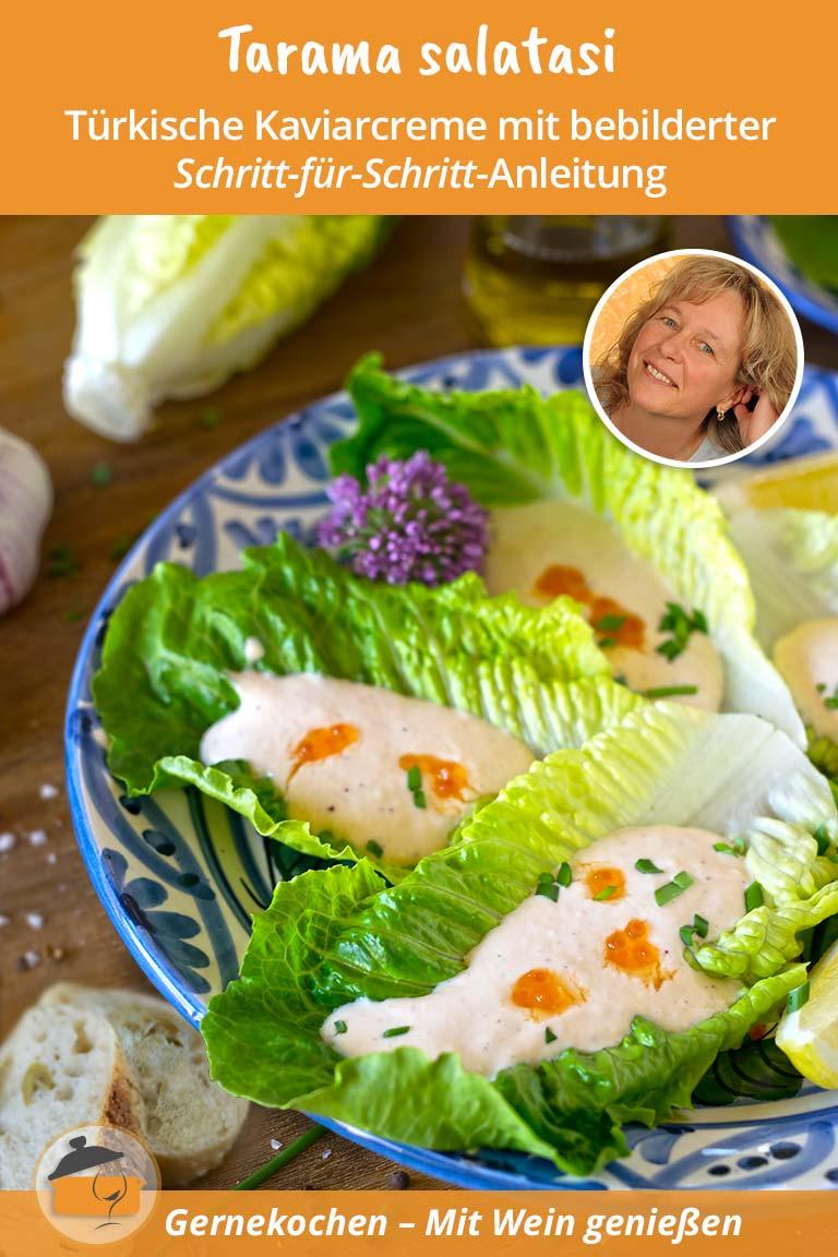 Tarama salatasi – Türkische Kaviarcreme
