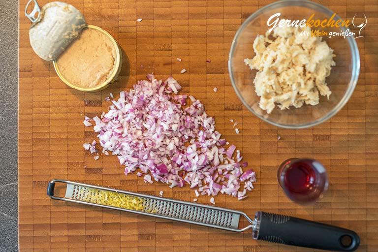 Taramosalata-Rezept – Zubereitungsschritt 1