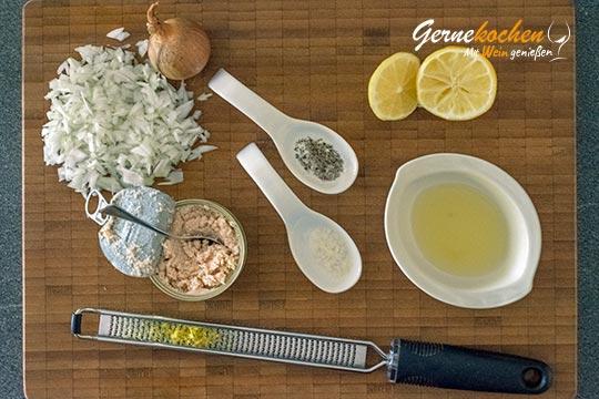 Weißer Taramosalata - Zubereitungsschritt 1