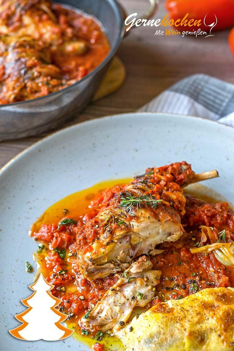 Mediterrane Kaninchenkeulen aus dem Slow Cooker