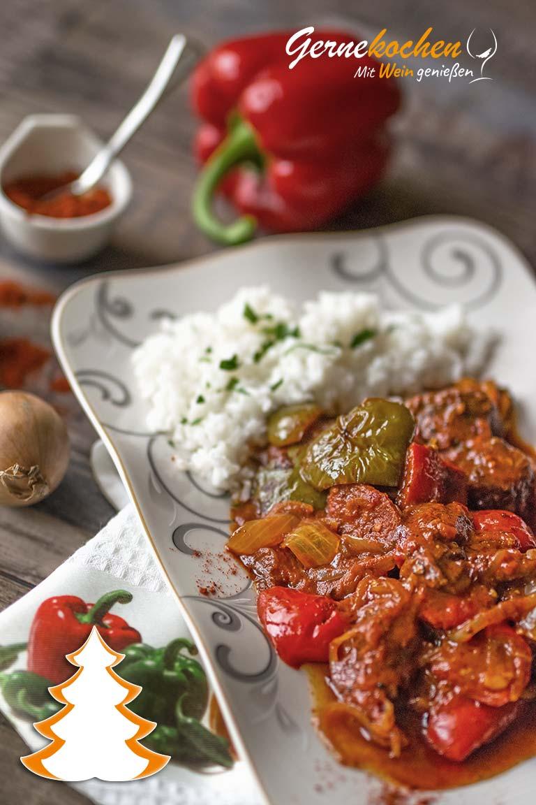 Ungarisches Gulasch aus dem Slow Cooker
