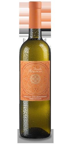 FEUDO ARANCIO Grillo-Chardonnay 2015. Kochen mit Wein